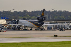 United Parcel Service (UPS) McDonnell Douglas MD-11F N275UP (MIDEXJET (Thank you for over 2 million views!)) Tags: milwaukee milwaukeewisconsin generalmitchellinternationalairport milwaukeemitchellinternationalairport kmke mke gmia flymke unitedparcelserviceupsmcdonnelldouglasmd11fn275up unitedparcelservice ups mcdonnelldouglasmd11f n275up mcdonnelldouglas mcdonnelldouglasmd11 md11 md11f