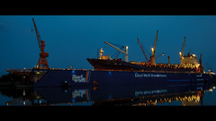 20150821_200954 (LeSzal) Tags: shipping industry import business freight industrial export container terminal port transportation cargo ship transport delivery loading crane harbor dock storage commerce trade work truck logistics global maritime vessel unloading logistic boat commercial harbour international warehouse technology sea worker nautical shipyard box economy sky pier structure lift engineer construction job heavy shipment seaport water ocean control working manager carrier leadership people man containers bremerhaven germany nordsee bremen