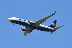 Ryanair Sun Boeing 737-8AS) SP-RSD - Manchester Airport (dwb transport photos) Tags: ryanairsun boeing aeroplane sprsd manchesterairport manchester
