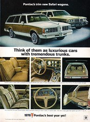 1978 Pontiac Grand LeMans Safari & Grand Safari Wagons USA Original Magazine Advertisement (Darren Marlow) Tags: 1 7 8 9 19 78 1978 p pontiac s safari g grand l lemans w wagon c car cool collectible collectors classic a automobile v vehicle m gm general motors u us usa united states american america 70s