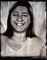 Corrina (fitzhughfella) Tags: wetplate tintype tinplate silvernitrate ether collodion largeformat 5x4 graflexspeedgraphic kodakaeroektar