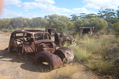 Old car 4 (iainken) Tags: old car abandoned rust wreck scrap