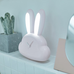 Rabbit LED Clock Night Light (gadgetsarrival) Tags: gadgets gadget rabbit easter eastersunday homedesign homelifestyle funny creative clock lamp lifestyle decoration
