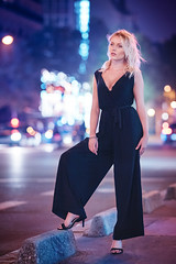 Marion (Foto Spirit) Tags: shooting model femme woman beautiful glamour color paris night blond hair
