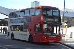 NXWM AD Enviro 400 4942 SL14LRN - Birmingham (dwb transport photos) Tags: nxwm nationalexpresswestmidlands alexander dennis enviro bus decker sl14lrn birmingham