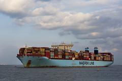 MOGENS MAERKS (angelo vlassenrood) Tags: ship vessel nederland netherlands photo shoot shot photoshot picture westerschelde boot schip canon angelo walsoorden cargo container mogensmaerks