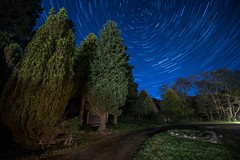 First Star Trail (Click And Pray) Tags: managedbyclickandpraysflickrmanagr longexposue startrail argyll scotland longexposuestartrailargyllscotland