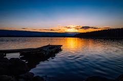 Emäsalo II (mabuli90) Tags: porvoo sea sunset spring water bird dock factory clouds rocks sky forest tree finland night