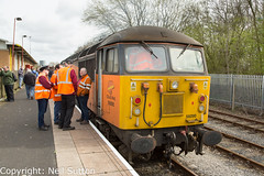 Colas 56090 - Ribble Railway Preston (Neil Sutton Photography) Tags: 56090 canon colas colasrail colasrailfreight dieselelectric diesellocomotive preservedrailway preston railway ribblerailway ribblesteamrailway train class56 loco locomotive