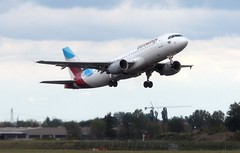 D-ABNT A320 Eurowings  depart BLQ (kitmasterbloke) Tags: blq bologna marconi italy aviation airliner aircraft outdoor transport