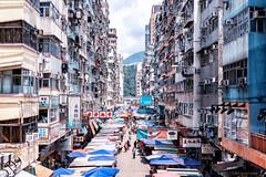 Fa Yuen Street Market (Joachim Wuhrer) Tags: joachimwuhrer hongkong kowloon princeedward fayuenstreet summer holiday asia a7iii architecture artistic a7m3 streetphotography sony sonya7iii streetart street sel5518z sel55f18z