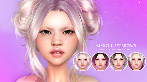 THIS IS WRONG Kakkoii eyebrows - exclusive for Fluffy Kawaii