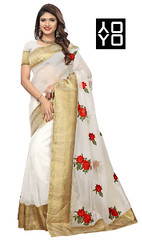 Latest Poly Net Saree (yoyo_fashion) Tags: