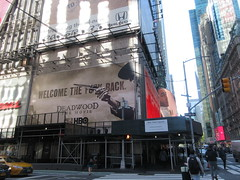 2019 Deadwood The Movie Billboard Times Square 8126 (Brechtbug) Tags: deadwood the movie billboard timothy olyphant ian mcshane molly parker kim dickens brad dourif keith carradine john hawkes jeffrey jones number one times square building below no longer existing orange news zipper ticker 42nd street broadway near 7th avenue new york city 05142019 next walgreens nyc hbo tv series 2004 2006 show television cable 2019