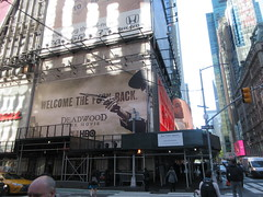 2019 Deadwood The Movie Billboard Times Square 8125 (Brechtbug) Tags: deadwood the movie billboard timothy olyphant ian mcshane molly parker kim dickens brad dourif keith carradine john hawkes jeffrey jones number one times square building below no longer existing orange news zipper ticker 42nd street broadway near 7th avenue new york city 05142019 next walgreens nyc hbo tv series 2004 2006 show television cable 2019