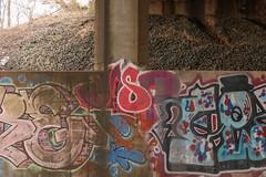 Jasp (NJphotograffer) Tags: graffiti graff new jersey nj trackside rail railroad bridge jasp