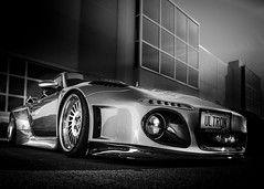 SLANT (Dave GRR) Tags: porsche 911 slantnose slant supercar hypercar exotic ea carsandcoffee monochrome mono blackandwhite olympus toronto 2019