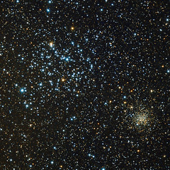 Messier 35 and NGC 2158 (remake) (gjdonatiello) Tags: messier35 ngc2158 open cluster
