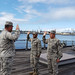 Swamp Fox Airmen reenlist at Pearl Harbor