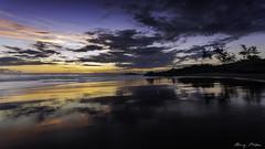 BEMEZ-12 (Bertrand Mézino) Tags: sunset seascape clouds ocean nature reflexions sand rocks ilsdelareunion gotolareunion iledelareuniontourisme