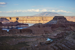 Lake Powell Overlook (CraDorPhoto) Tags: canon5dsr landscape water lakepowell sky blue clouds mountains valley nature outside outdoors usa utah