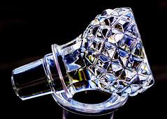 glass bottle stopper (alderson.yvonne) Tags: macromonday macro macromondays cutglass bottlestopper yvonnealderson nikond7200 bottle cap