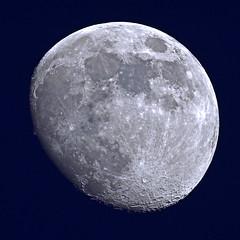 Der Mond (Michael Döring) Tags: gelsenkirchen bismarck mond moon lune luna tc17eii afs600mm40e d7200 michaeldöring