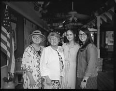 4 Generations - Mothersday (randywebb1) Tags: monobath speedgraphic largeformat 4x5 film blackandwhite bw portrait