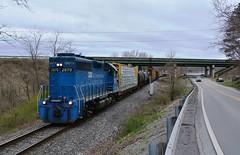 GMTX 2670 A&O Freight. Buchannon, WV (bobchesarek) Tags: ao appalachianohiorailroad cowansub csx bo railroad trains locomotive