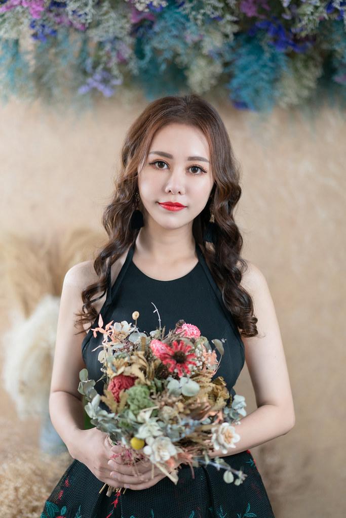 【新秘婕喬】新娘造型創作 / 韓系女神捲髮