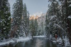 More Snow To The Sierras (tourtrophy) Tags: yosemite yosemitenationalpark river mercedrivver sierra canoneos5dmark3 canonef1635mmf4lisusm