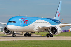 TUI Boeing 787-9 Dreamliner G-TUIM 'Edie' (Mark_Aviation) Tags: tui boeing 7879 dreamliner gtuim edie thomson 787 manchester international ringway airport egcc man southside south side takeoff power loud fast acceleration aircraft airplane passenger jet genx
