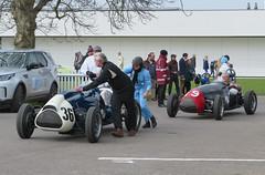 1952 Cooper Bristol Mk1 T20 and 1953 Cooper Bristol Mk2 T23 (jane_sanders) Tags: goodwood motorcircuit westsussex sussex 77thmembersmeeting 77mm membersmeeting parnellcup cooperbristolmk1t20 cooper bristol mk1 t20 cooperbristolmk2t23 mk2 t23