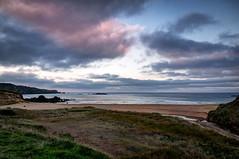 Atardecer de invierno (ccc.39) Tags: asturias verdicio playa gozón mar cantábrico costa atardecer arena seascape beach sunset natural