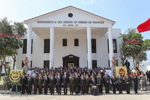 PRESIDENTE VIZCARRA ENCABEZÓ CEREMONIA POR XXII ANIVERSARIO DE LA OPERACIÓN CHAVÍN DE HUÁNTAR