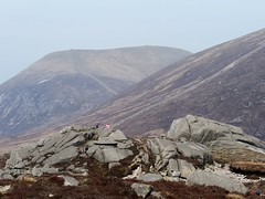 Slieve Commedagh, from ascent of Chimney Rock Mountain, Apr. 2019 (Great Uncle David) Tags: northernireland mournes mountains slievecommedagh