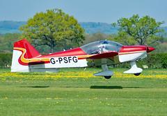 G-PSFG (Skidmarks_1) Tags: gpsfg avionsrobin robinr2160i egkh headcorn headcornlashenden lashendenheadcorn unitedkingdom