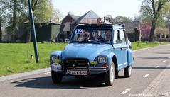 Citroën Dyane 1982 (XBXG) Tags: oacx653 citroën dyane 1982 citroëndyane blue bleu le petit pressé 2019 citronpressé rottegatsteeg maarsbergen utrecht nederland holland netherlands paysbas vintage old classic french car auto automobile voiture ancienne française france frankrijk vehicle outdoor