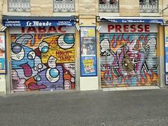 Toulouse tablier peint (christine.petitjean) Tags: toulouse streetart tablierpeint