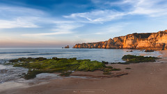 Praia Dona Ana, Lagos, Portugal (Nat_L2_photographies) Tags: beach praia plage donaana lagos algarve portugal rochers rocks sunrise mer atlantique