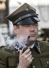 Crich 1940s Weekend 2019 pic20 (walljim52) Tags: crichtramwayvillage crich derbyshire 1940s event actor reenactor wartime ww2 soldier civilian military uniform costume