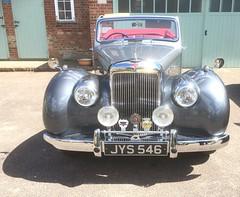 JYS546 Alvis (kitmasterbloke) Tags: vehicle car vintage classic transport uk