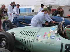 1934 Maserati 8CM (#2) and 1954 Kieft Climax GP (#18) (jane_sanders) Tags: goodwood motorcircuit westsussex sussex 77thmembersmeeting 77mm membersmeeting parnellcup maserati8cm maserati 8cm kieftclimaxgp kieft climax gp