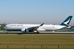B-LRG_20190420_50163_M (Black Labrador13) Tags: blrg airbus a350 a350900 a350941 cathay pacific airways bru ebbr avion plane aircraft vliegtuig airliners civil
