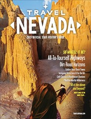 Nevada 2019 Visitors Guide Front Cover (Jeff Sullivan (www.JeffSullivanPhotography.com)) Tags: cathedral gorge state park border collie puppy panaca lincoln county nevada united states usa travel photography landscape portrait canon eos 6d dslr digital camera photo copyright july 2018 jeff sullivan travelnevada tourism front cover donnan