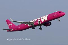 A321-253N TF-DTR WOW AIR (shanairpic) Tags: jetairliner passengerjet shannon a321 airbusa321 wowair tfatr