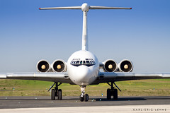 EW-450TR - RADA Airlines IL62   XCR (Karl-Eric Lenne) Tags: ew450tr xcr lfok taxi russian il62 ilyushin rada face2face 28 cargo 4 engines