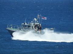 Royal Navy Scimitar Class Patrol Boat HMS Sabre P285 off Catalan Bay, Gibraltar (8) (andrew.dace) Tags: roayl navy scimitar class hms sabre p285 gibraltar