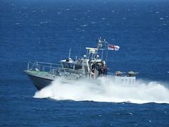 Royal Navy Scimitar Class Patrol Boat HMS Sabre P285 off Catalan Bay, Gibraltar (6) (andrew.dace) Tags: roayl navy scimitar class hms sabre p285 gibraltar