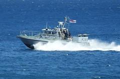 Royal Navy Scimitar Class Patrol Boat HMS Sabre P285 off Catalan Bay, Gibraltar (3) (andrew.dace) Tags: roayl navy scimitar class hms sabre p285 gibraltar